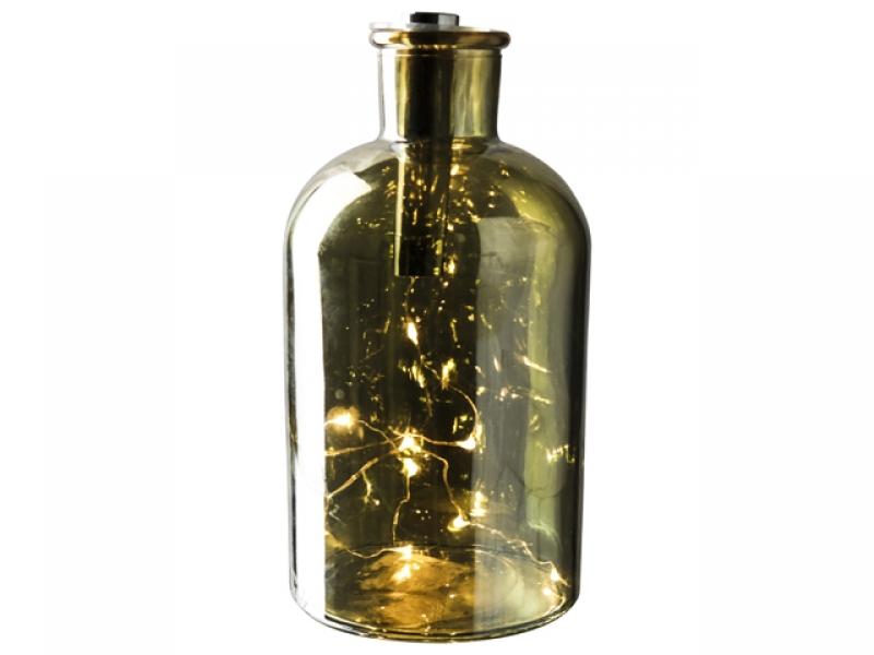 Kerstpakket led decoratie fles for Decoratie fles